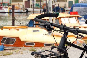 vélo électrique bateau